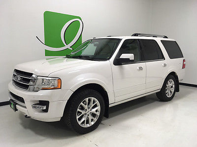 2016 Ford Expedition Limited 2016 Ford Expedition, White Platinum Metallic Tri-Coat with 42,405 Miles availab