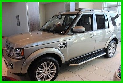 2014 Land Rover LR4 LUX 2014 LUX Used 3L V6 24V Automatic 4WD SUV Premium