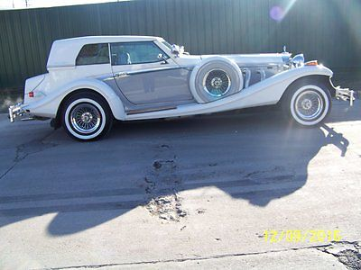 1984 Other Makes  1984 Excalibur Phaeton 20th Anniversary Edition #48/50 ALL ORIGINAL 1853 MILES