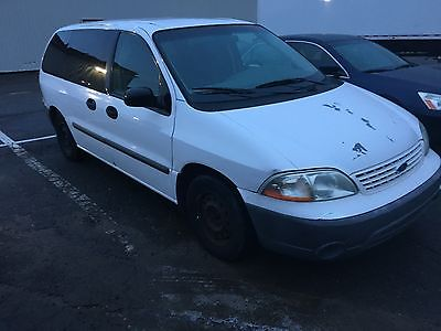 2002 Ford Windstar  2002 Ford Windstar CARGO Minivan (No rear seats and smooth floor for loading)