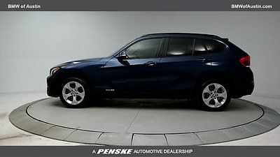 2014 BMW X1 28i 28i 4 dr SUV Automatic Gasoline 2.0L 4 Cyl Deep Sea Blue Metallic