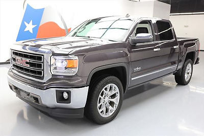 2014 GMC Sierra 1500 SLT Crew Cab Pickup 4-Door 2014 GMC SIERRA SLT CREW TEXAS VENT LEATHER NAV 60K MI #569752 Texas Direct Auto