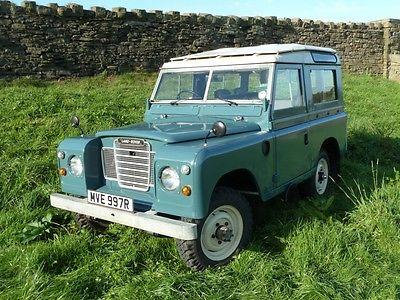 1972 Land Rover Defender SERIES 3 SAFARI STATION WAGON UPERB 1972 LAND ROVER SERIES 3 SAFARI STATION WAGON
