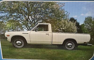 1978 Datsun 620  1978 Datsun 620 Pickup Survivor barn find