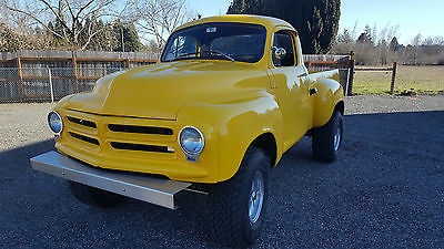 1955 Studebaker Pickup 1955 Studebaker Four Wheel Drive Pickup