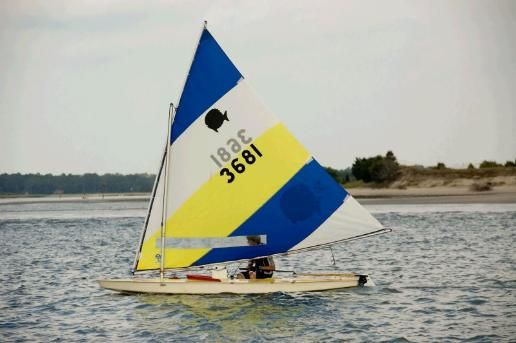 2016 Laser Performance Sunfish