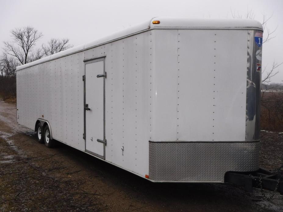 2006 Interstate 8.5 x 32 ft x 7.5 Tall Enclosed Car Hauler ATV UTV Trailer