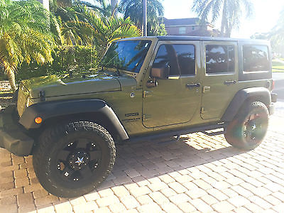 2013 Jeep Wrangler Unlimited Sport MINT ONE OWNER 2013 JEEP WRANGLER UNLIMITED SPORT, XD WHEELS, 57K MILES, PERFECT