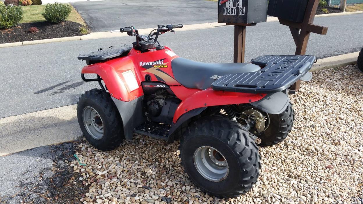 1999 Kawasaki Prairie 300 4X4