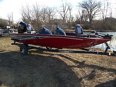 LOWE STINGER 188 POWERED BY A MERCURY 115 PRO XS AND TRAILER