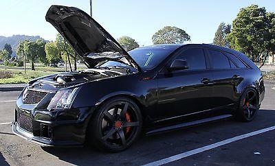 2011 Cadillac CTS V Wagon 4-Door 2011 Cadillac CTS V Wagon 4-Door 6.2L