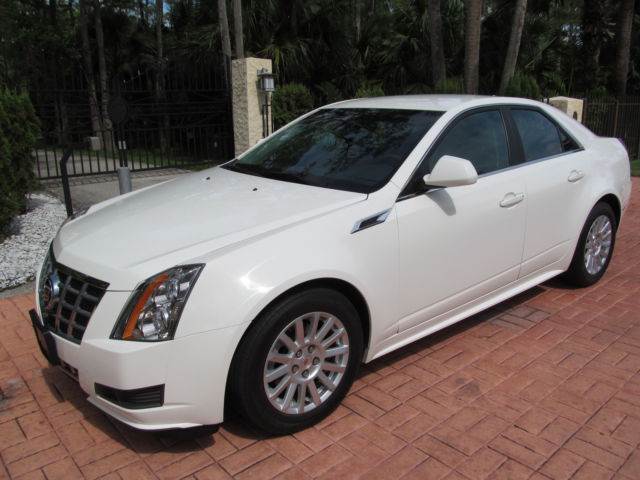 2013 cadillac cts sedan white cars for sale. Black Bedroom Furniture Sets. Home Design Ideas