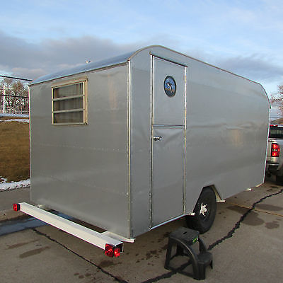 American Camper travel trailer 15' canned ham Vintage Mini HOME rebuilt NEW
