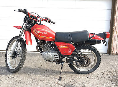1980 Honda Xl 500 Motorcycles For Sale