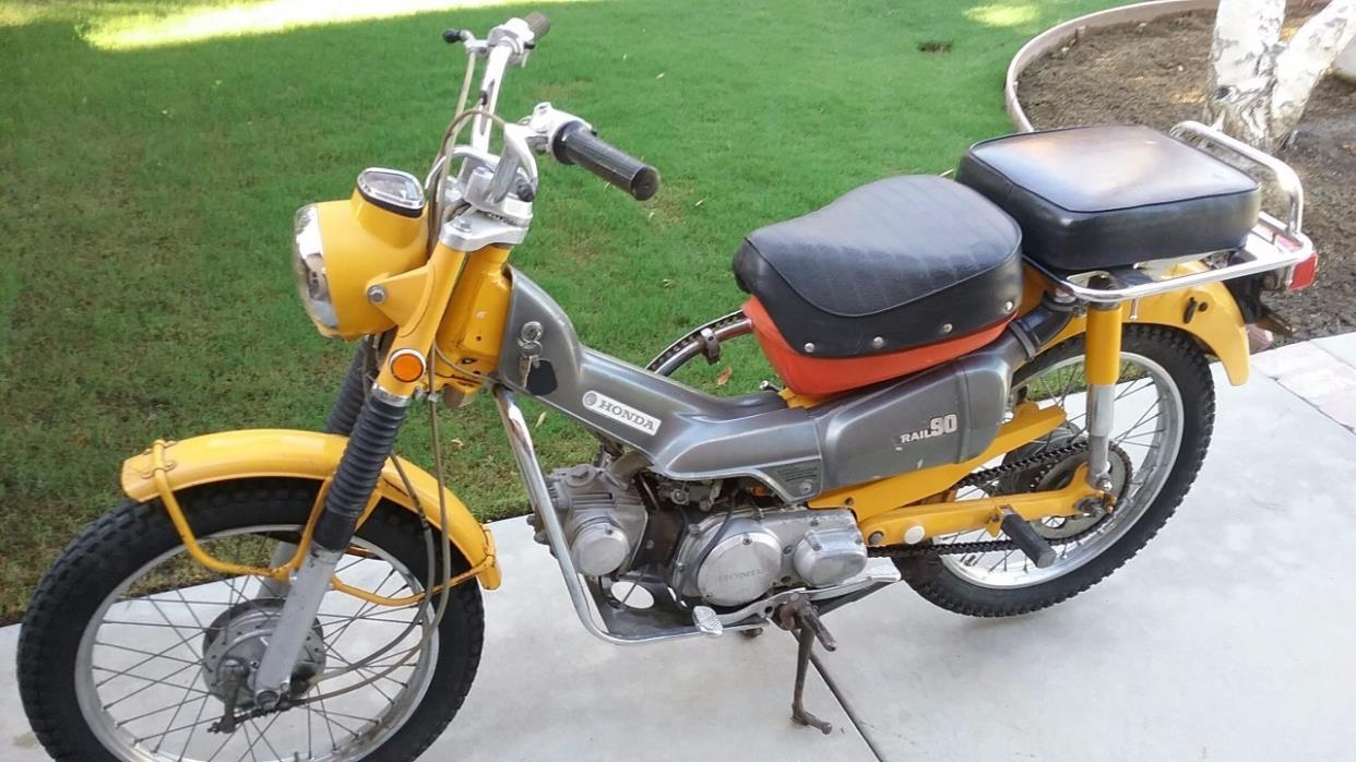 1975 honda ct 90 trail motorcycles for sale for Honda in ct