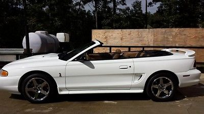 1997 Ford Mustang SVT Cobra Convertible 2-Door 1997 Ford Mustang SVT Cobra Convertible 2-Door 4.6L