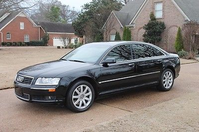 2005 Audi A8 L Perfect Carfax Non Smokers Car Heated and Cooled Seats Navigation Loaded