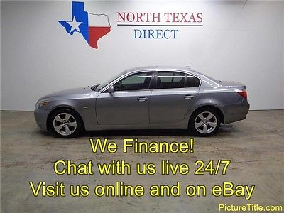 2004 BMW 5-Series Base Sedan 4-Door 04 BMW 530i Sedan Leather Seats Sunroof WE FINANCE Texas
