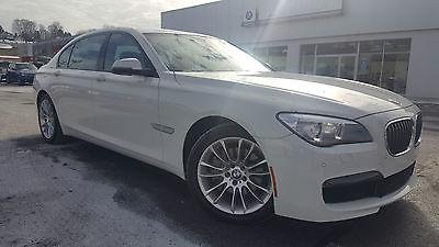 2014 BMW 7-Series Heated Seats Navigation Rear Camera Certified 2014 BMW 740Li xDrive AWD 3.0L L6 Heated Seats Navigation Rear Camera