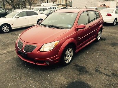 2008 Pontiac Vibe 2008 PONTIAC VIBE 5 speed moonroof monsoon stereo TOYOTA POWERED!! 1 OWNER!!!