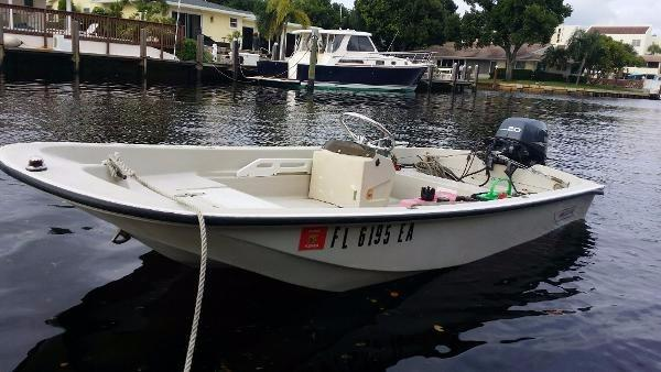 1981 Boston Whaler 110 Tender 2008 Yamaha 4 stroke