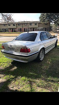 2001 BMW 7-Series M sport 2001 bmw 740il