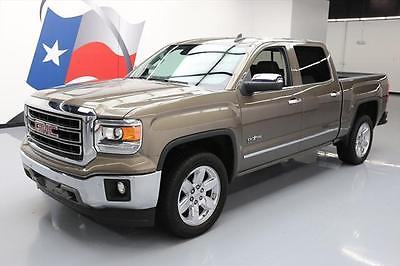 2015 GMC Sierra 1500 SLT Crew Cab Pickup 4-Door 2015 GMC SIERRA CREW TEXAS EDITION LEATHER NAV 20'S 27K #460245 Texas Direct