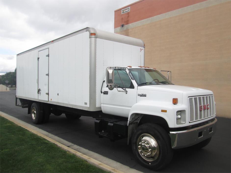 1993 Gmc Topkick C7500 Box Truck - Straight Truck