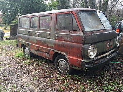 1964 Dodge a100 6 door dodge a100 van 62-67 not running