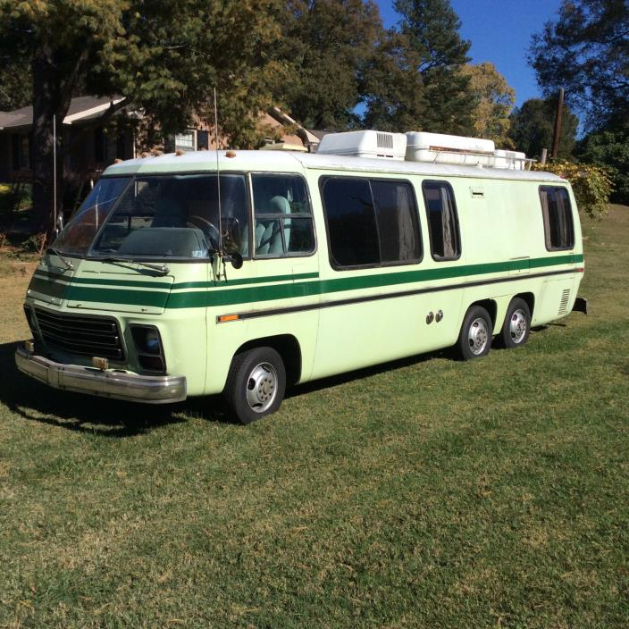 1977 GMC Palm Beach Motor Home RV $12,000