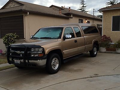 2000 Chevrolet Silverado 2500 LS 2000 Chevrolet Silverado LS HD2500 Ext. Cab Long Bed 4x4 84K miles