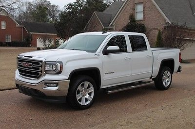 2016 GMC Sierra 1500 4WD Crew Cab One Owner Perfect Carfax Heated Leather Seats Navigation System MSRP New $52250