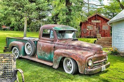 1950 International Harvester 1/2 ton pick up chrome 1950 Resto Rod, International pickup truck - ONE BAD AZZ RAT ROD