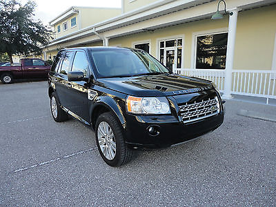 2009 Land Rover LR2 3.2 L HSE Technology Package AWD  2009 Land Rover LR2 HSE Tech Pkg One Owner Florida Car No Accident Clear Title