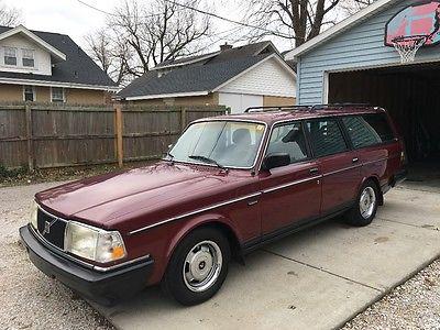 1989 Volvo 240  1989 volvo 240 wagon 245