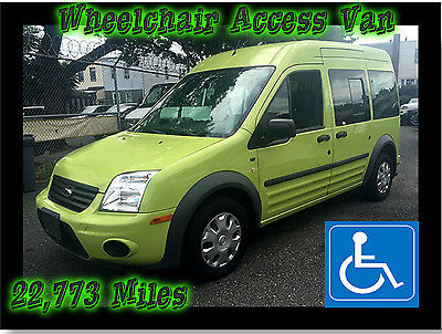 2012 Ford Transit Connect XLT Premium Mini Passenger Van 4-Door 2012 Ford Transit Connect XLT Premium HANDICAP WHEELCHAIR RAMP VAN LOW MILES!!!!