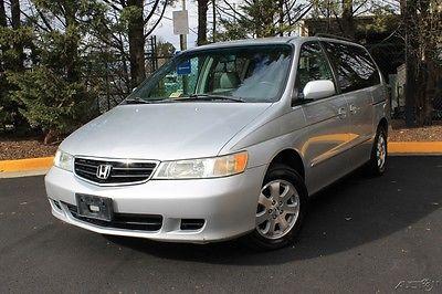 2002 Honda Odyssey Loaded! Leather DVD & more!  Rare under 100K miles 2002 Honda Odyssey EX-L Minivan/Van  ***LOW LOW LOW MILES***