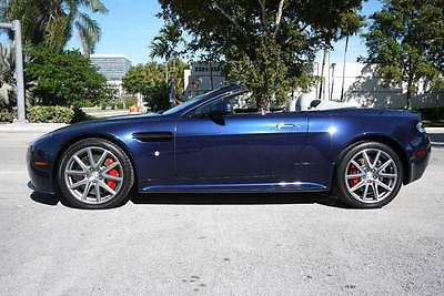2015 Aston Martin Vantage GT Roadster 2dr Convertible 2015 Aston Martin V8 Vantage, MIDGHTNIGHT BLUE with 670 Miles available now!