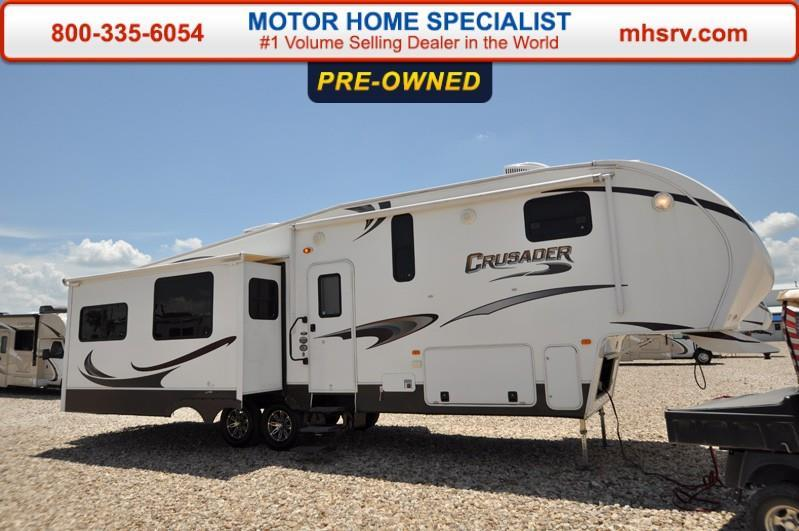2013 Prime Time Crusader 325RES W/3 Slides