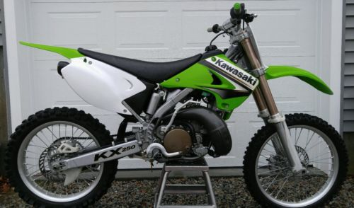 2003 Kawasaki KX 2003 Kawasaki KX250 two stroke - Mostly original
