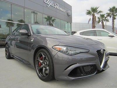 2017 Alfa Romeo Other Quadrifoglio NEW 2017 GIULIA QUADRIFOGLIO AUTMATIC DRIVER ASSISTANCE NAVIGATION