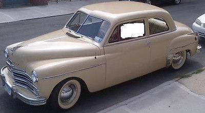 1949 Plymouth Other 1949 Plymouth Special Deluxe