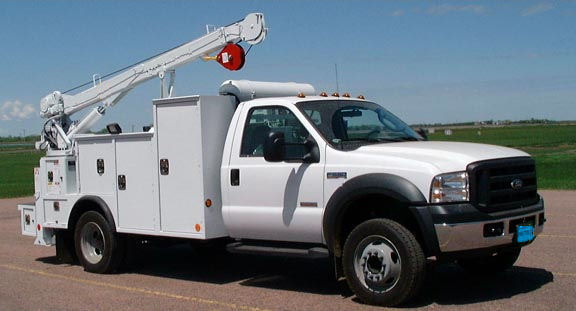 2017 Ford F550  Crane Truck
