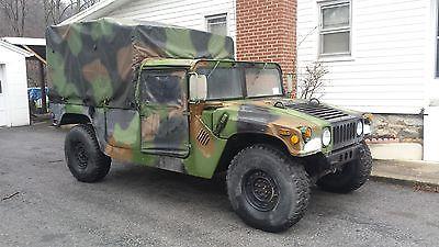 1998 Hummer H1 camo H1 hummer
