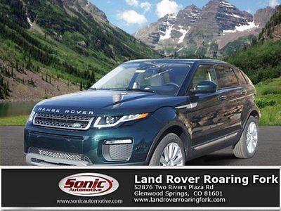 2016 Land Rover Range Rover HSE 2016 Land Rover Range Rover Evoque HSE 7397 Miles Green Sport Utility Intercoole