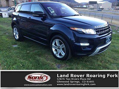 2013 Land Rover Range Rover Dynamic Premium 2013 Land Rover Range Rover Evoque Dynamic Premium 29823 Miles Baltic Blue Metal
