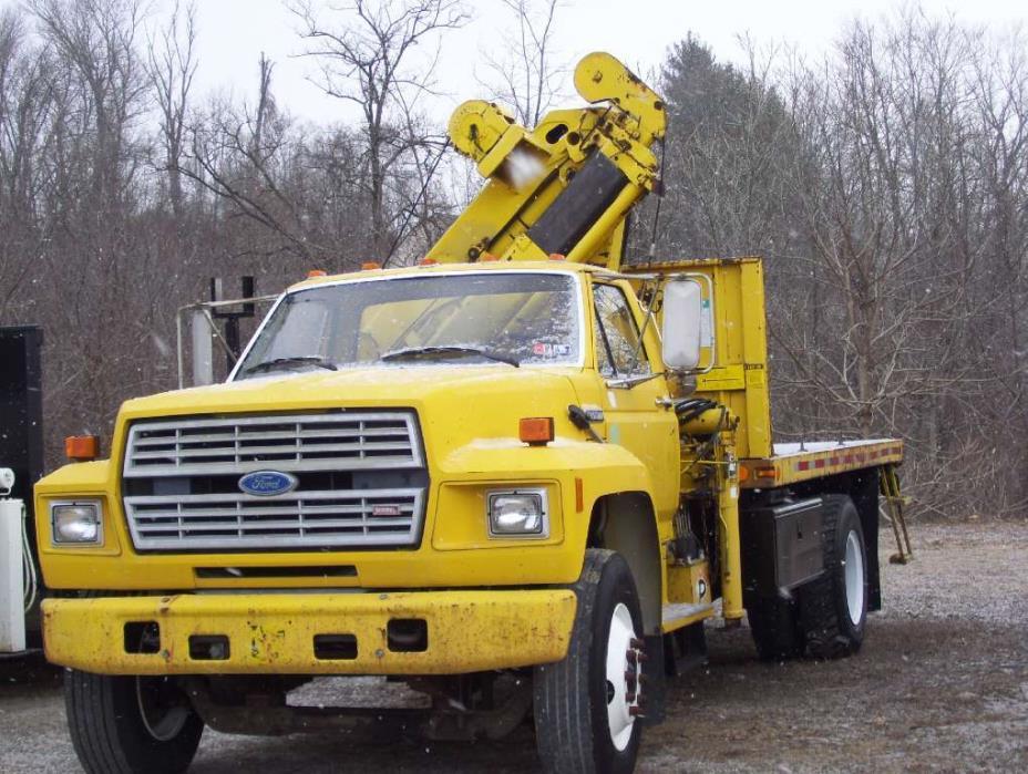 1987 Ford F8000 Crane Truck