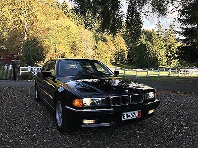 1998 BMW 7-Series  1998 BMW 750il Single owner