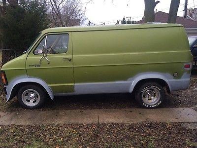 1979 Dodge Other Pickups B100 1979 dodge van b100 shorty hot rod hippie project custom van t bucket van craze