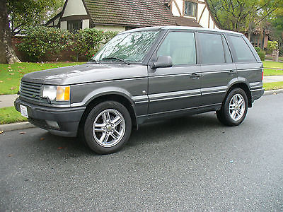 2001 Land Rover Range Rover Grey Beautiful California Rust Free  Range Rover 4.6 HSE  Great Condition MUST SEE